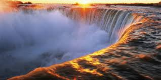 falls_with_sunset